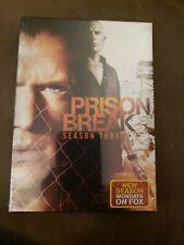 Prison Break - Season 3 (DVD, 2009, 4-Disc Set)