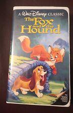 THE FOX AND THE HOUND ~ 1981, VHS ~ DISNEY CLASSIC ~ BLACK DIAMOND ~ FREE SHIP