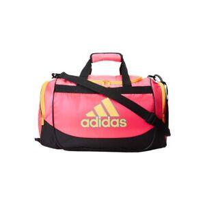 Adidas Defender Small Duffel Pink/Orange/Black/Sky Blue