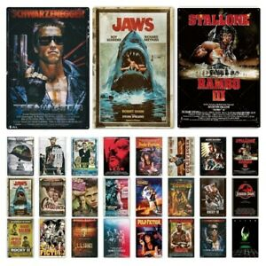 8X12in Classic Movie Metal Sign Vintage Poster Retro Tin Plaque Wall Decoration