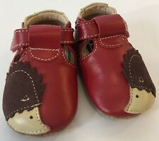 Livie & Luca Shoes Patent Leather Red Newborn 0-6 Months.
