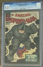 The Amazing Spider-Man #41 (1st Rhino Appearance), CGC 5.5, October 1966