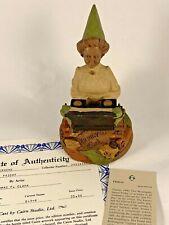 Friday 1990 Tom Clark Gnome Signed Figurine 5104 Coa & Story 25