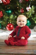 Mud Pie Christmas Holiday Best Velour Necktie One Piece
