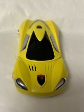 Double Sim Phone, Sports Car Model, Yellow
