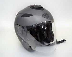 Harley Davidson Maywood Interchangeable Sun Shield H27 3/4 Helmet Size XL