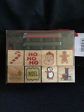 RECOLLECTIONS CHRISTMAS RUBBER STAMP KIT ( NEW & SEALED)