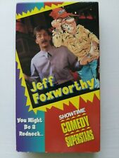 Rare. Jeff Foxworthy VHS You Might Be A Redneck... Showtime Comedy Superstar. VG
