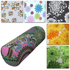 Bolster Cover*Aster Cotton Canvas Neck Roll Tube Yoga Massage Pillow Case*AF4