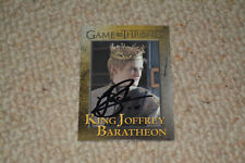 JACK GLEESON signed Autogramm In Person GAME OF THRONES TRADING CARD