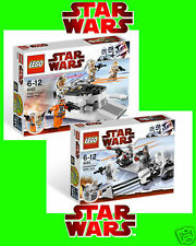 NEU LEGO Star Wars SET 8083 + 8084 Battle Packs
