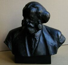 Russian Ukrainian Soviet statue sculpture bust Karl Marx LARGE realism Kerbel