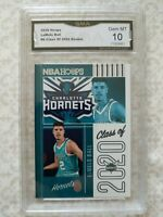 2020-21 NBA Hoops LAMELO BALL Class of 2020 Rookie RC Charlotte Hornets GMA 10