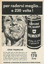W8399 Sapone da barba PALMOLIVE - Pubblicità 1964 - Advertising