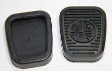CLASSIC ALFA ROMEO 105 Pedale Gomma Copertura CON LOGO ALFA KIT (COPPIA) - NUOVISSIMO