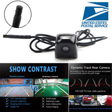 Car Intelligent Dynamic Trajectory Backup Camera Rear View Moving Guide Line US
