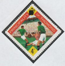 Ireland - Thomond 4011 -1966 FOOTBALL with WORLD CUP OPT INVERTED u/m
