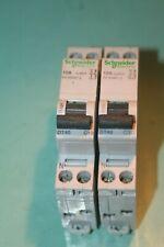 lot de 2 Disjoncteurs dt40 10A schneider 21024