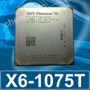 AMD Phenom II X6 1075T HDT75TFBK6DGR 3GHz AM3 6-Core 125W CPU Processor