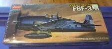 Ww Ii Us Navy F6F-3/5 Fighter Airplane Plastic 1:72 Scale Academy Model Kit