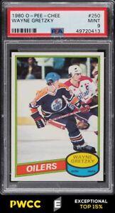 1980 O-Pee-Chee Hockey Wayne Gretzky #250 PSA 9 MINT (PWCC-E)