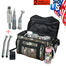 Portable Dental Turbine Unit Air Compressor Suction 3-W Syringe +Free Handpiece