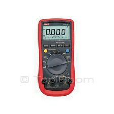 UNI-T UT61C Digital Multimeter AC DC Volt Amp Ohm Hz Temp Capacitance Diode Test