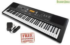 Yamaha PSR-EW300 76-Key Portable Keyboard power adapter included PSREW300 black