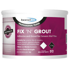 Bond IT 3.75 kg Fix N Joints Carrelage Adhésif Usage Interne Idéal pour douches ...