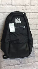 Asics Tiger Logo Backpack Black Unisex New NWT