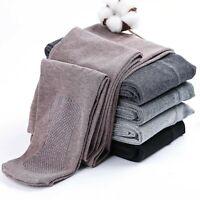 Collant épais en coton pour femme/ Collant chaud et élastique pour l'hiver Doux