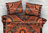 "Indian Sun Moon Mandala Cushion Pillow Cover Home Decorative Pillow Sham 20*28"""