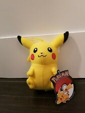 """Official Licensed Pokemon Pikachu Plush Stuffed Toy Gift Kids 7"""" Authentic New"""