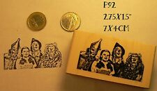 P92 Wizard of Oz rubber stamp WM