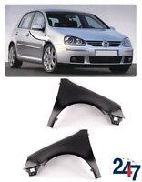 NEW VOLKSWAGEN VW GOLF MK 5 2003 - 2008 FRONT WING FENDER PAIR SET LEFT RIGHT
