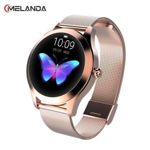 New MELANDA KW 10 SmartWatch IP68 Waterproof Smart Watch 2021 Women Bracelet