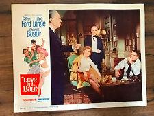Love Is A Ball 1963 United Artists lobby card Charles Boyer Glenn Ford Ulla Jaco