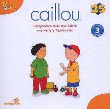 CD * CAILLOU 25 - VERSPRECHEN MUSS MAN HALTEN U. WEITERE GESCHICHTEN # NEU OVP §