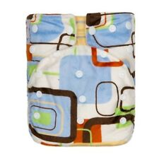 Kawaii Baby One Size Luxurious Snazzy Minky Pocket with 2 Bamboo Inserts