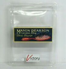 NEW Mason Pearson Junior Bristle & Nylon Brush | BN2-Dark Ruby Medium Size V-90