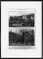 Vintage 1916 photograph of Building new fleets: working for victory in our docky