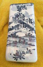 Umidificatore Per Termosifone In Ceramica Di Albissola,Realizzato Dipinto A Mano