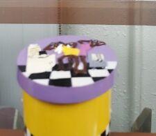 Small Annie Lee Purple Primpin Jar/Bathroom/Black Americana/African American