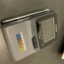 Casio Crystal Vision vintage handheld LCD television TV for projects/as-is
