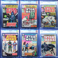 STAR WARS #39-44 : THE EMPIRE STRIKES BACK (Marvel 1980) ALL CGC / CBCS 9.6 NM+