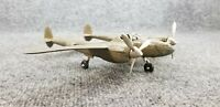 ANTIQUE Vintage HUBLEY P38 LIGHTNING ARMY GREEN DIECAST