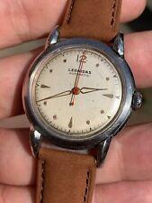 1940s Vintage Leonidas Automatic Mens Watch Steel Felsa 690 34,3mm