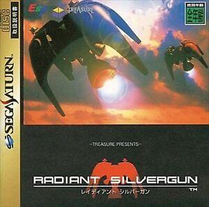 Sega Saturn Radiant Silvergun 1998 Japan SS Game Soft Used