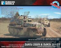 SdKfz 250/251 Expansion Set (SdKfz 250/9 & 251/23) 1/56 scale Rubicon 280048 P3