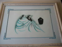 Robert Redbird American Indian Limited Edition Print, Framed, Signed & Numbered